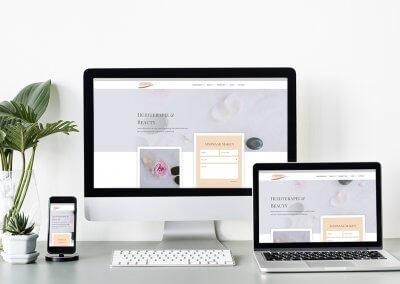 Huisstijl en webdesign Derma Moments