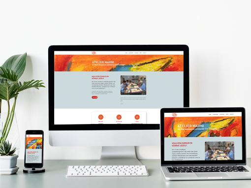 Webdesign Atelier Marni