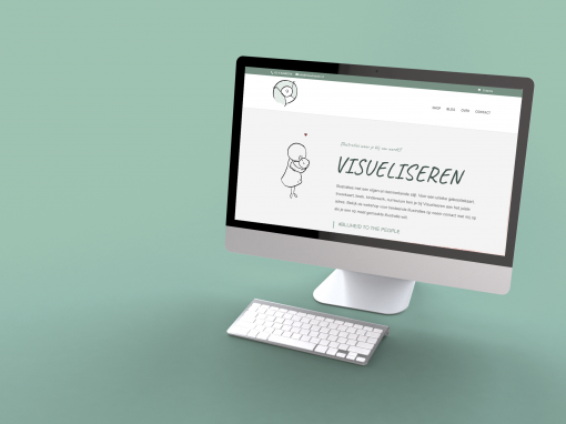 Visueliseren Web Design Webshop