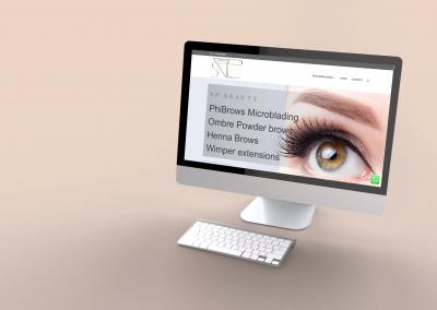 SP Beauty WebDesign