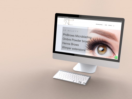 SP Beauty WebDesign